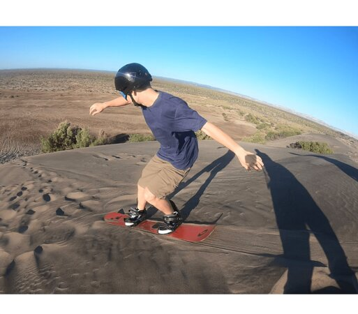 Sand Dune Boarding Experience
