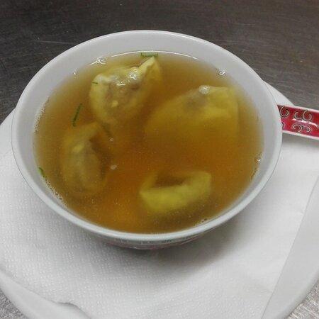 Sopa de Won Ton / Won Ton soup