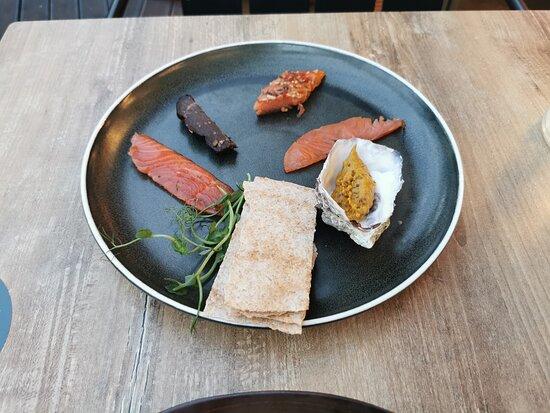 Local smoked fish (starter)