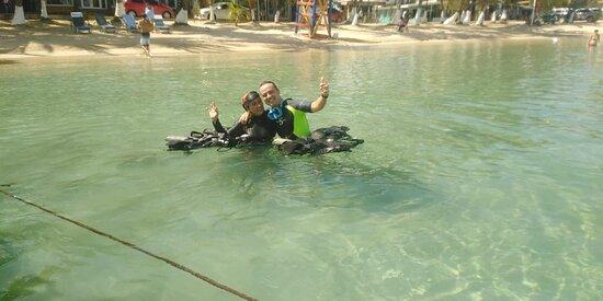 discover scuba diving in Half Moon Bay