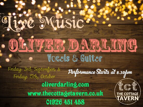 Live Music at the Cottage Tavern
