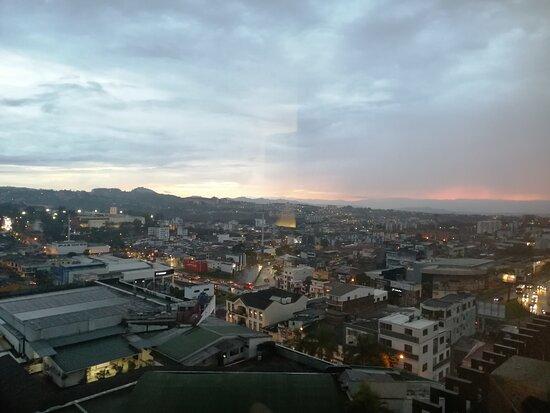 Todos los días tuve un panorama hermoso de la ciudad