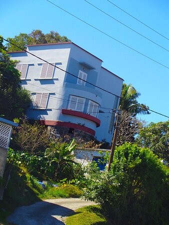 Noumea, New Caledonia: ▫ 🔷  𝔸ℝ𝕋 𝔻𝔼ℂ𝕆 ℍ𝕆𝕌𝕊𝔼  🔷 ▪ ▫ NEW CALEDONIAN Architectural  Heritage  ▪  7eme KM Suburb ▫ Nouméa City ⚆