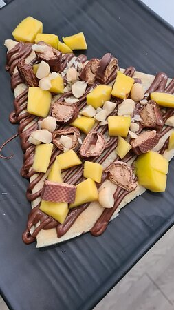 Crêpe dulces