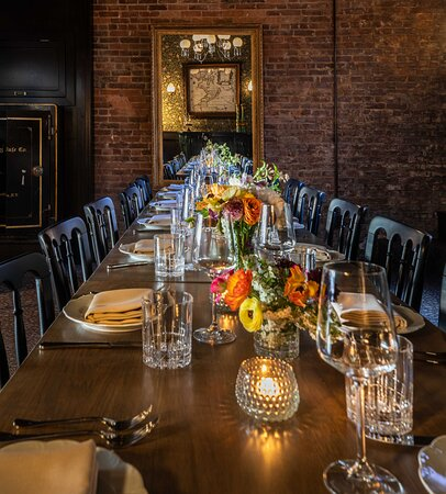 Fireplace Room - Private Dining at the National Exchange Hotel