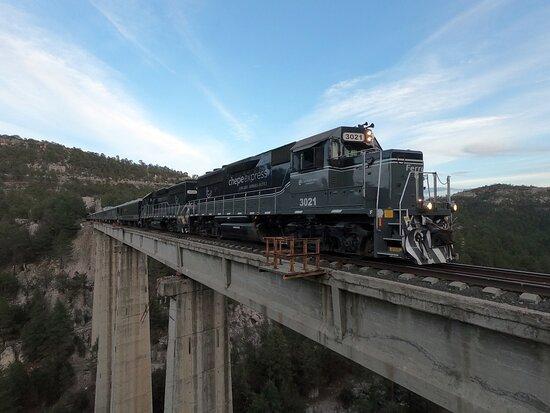 Τσιουάουα, Μεξικό: Tren Chepe Express