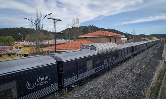 Τσιουάουα, Μεξικό: Tren Chepe Express, ruta temporal Chihuahua-Divisadero