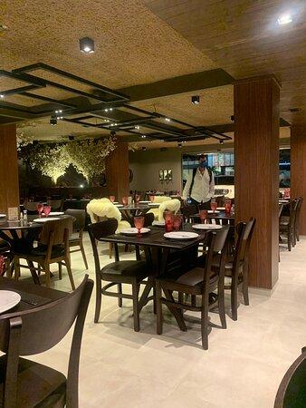 Restaurante lindo e aconchegante