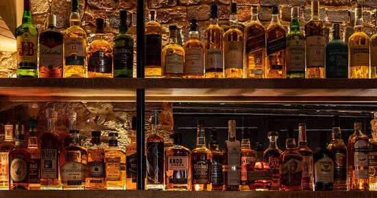 A gorgeous selection of spirits for however the spirit moves you.