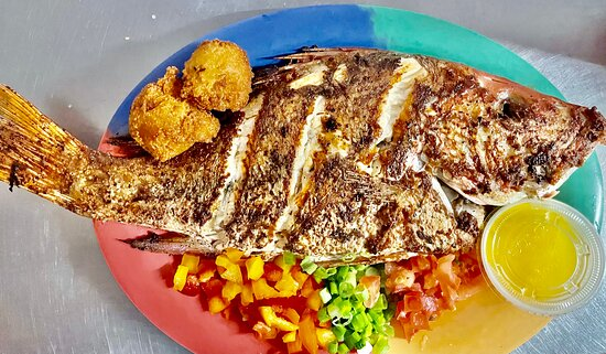 Whole Red Snapper Dinner