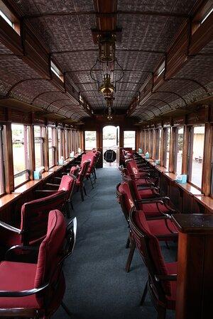 Parlor Car on the Toltec & Cumbres Railroad