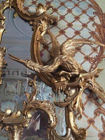 Fireplace Detail Bird