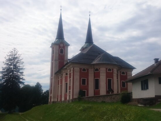 Church Of St. Peter On Kronska Gora