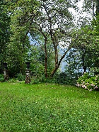 Obertraun, Austria: Magnifique camping au bord du lac en face de Hallstatt. Les hôtes sont très accueillants et arrangeants ( payement exclusivement en cash = distributeur à Hallstatt). Les toilettes et les salles de bains sont propres et modernes. Le camping ressemble à  un jardin botanique, il est  amènagé avec beaucoup de goût. Certaines personnes sont résidentes à l'année. Il y a donc des espaces avec des roulottes et des cabanes en bois.