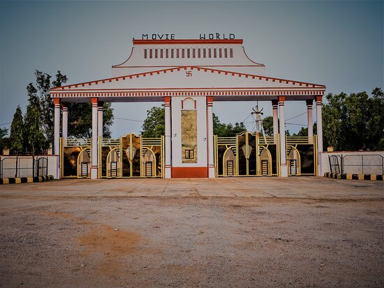 Grand entrance of The Movie World Jaipur