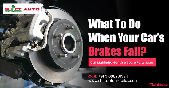 Bangalore, Índia: What to Do When Your Car's Brakes Fail? Call #Shiftautomobiles, Mahindra's Official Store, Buy 100% Mahindra Genuine Spare Parts at affordable price. Order now and get free home delivery.  #1 Choice for repairs, parts & service. Book Now.  Shop at: +91 9108826199  More Info: http://shiftautomobiles.com/
