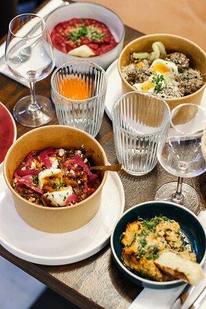 Mama Nissa – restaurant marocain algérien méditerranéen – traiteur à emporter _ Les Halles Chatelet Paris 2 (212)