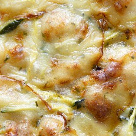 La nostra pizza ZUCCHINE E SCAMORZA