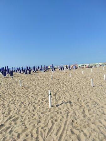 La spiaggia di Bibione Pineda