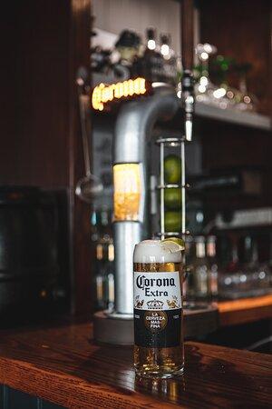 Corona on tap