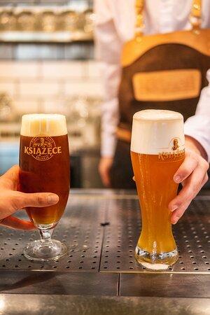 Zimne lane piwo