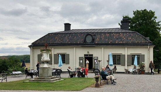 Sturehov castle - the wing café