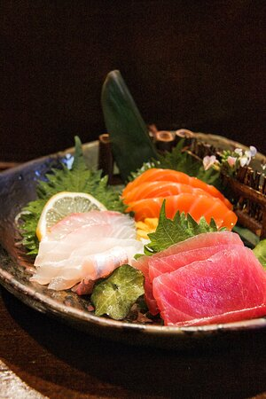 Indulge in our divine sashimi.