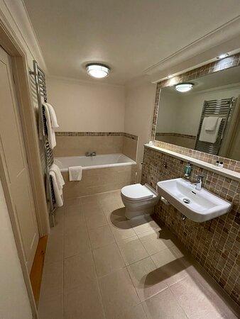 The Ash Suite bathroom