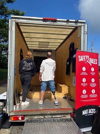 Our Mad Jack's van!