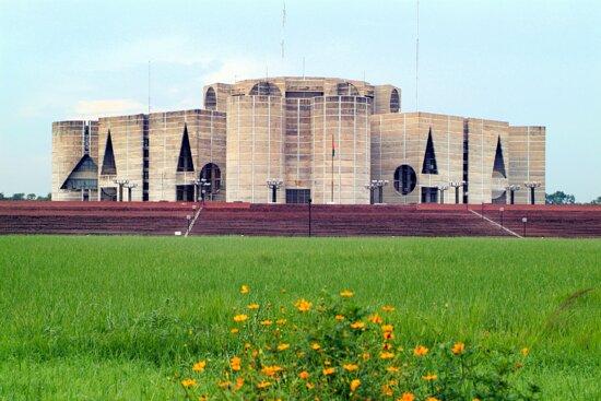 National Parlament Building at Dhaka City Road | SEO Agency Bangladesh | www.seoagencybd.com