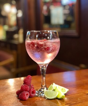 New product - Raspberry flavoured vodka & lemonade garnished with raspberries or fresh lime 😍