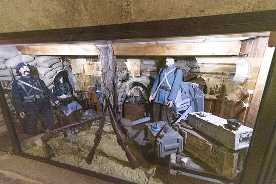 Bilhete de Admissão Musée Somme 1916: Musée Somme 1916