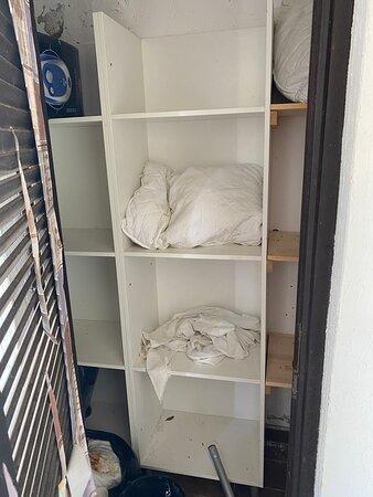 Hier hätte man frische Wäsche holen können