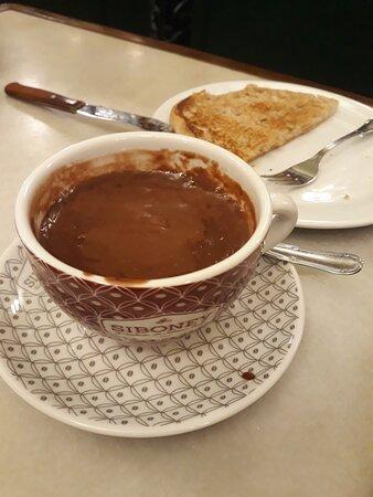 o melhor chocolate quente do mundo!