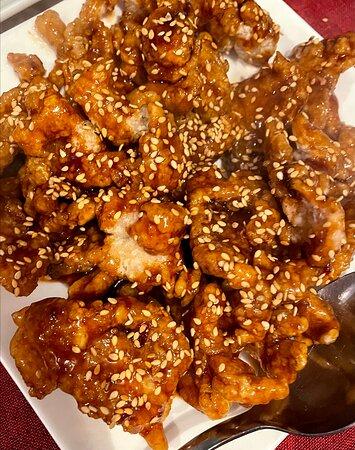 Pollo crujiente / Crispy chilly chicken