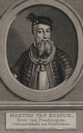 Maarten van Rossum, enige jaren bewoner kasteel