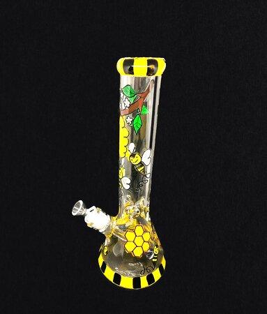 honey bee glass item