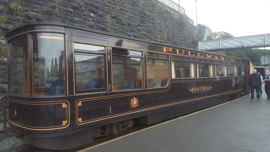 The beautiful 1st class carriage