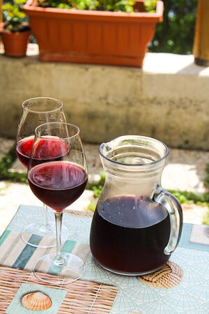 Our Homemade Wine