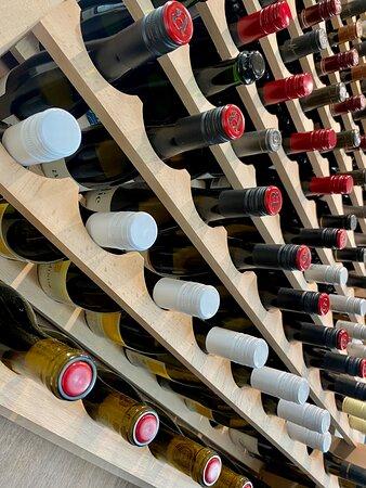 96 bottle wine selection
