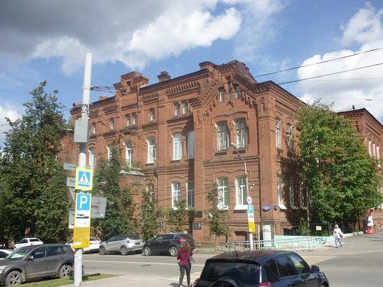 Вид с перекрестка Петропавловской и 25 Октября