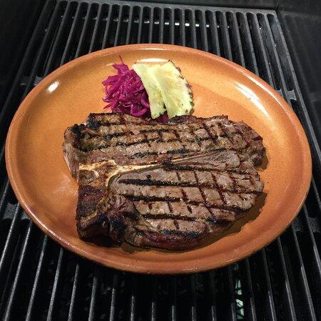 Een van de grootste steaks: de T-Bone