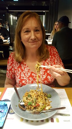Prawn noodles