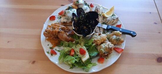 Piatto di pesce  Delizioso!!😋