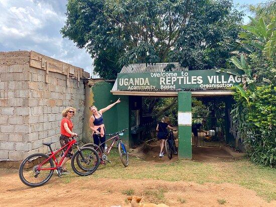 Bike tour Entebbe