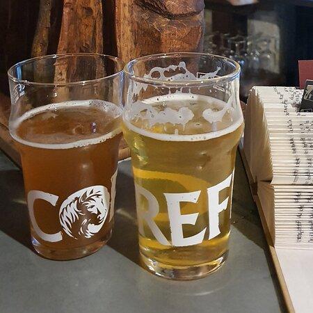Bières bretonnes sur le zinc