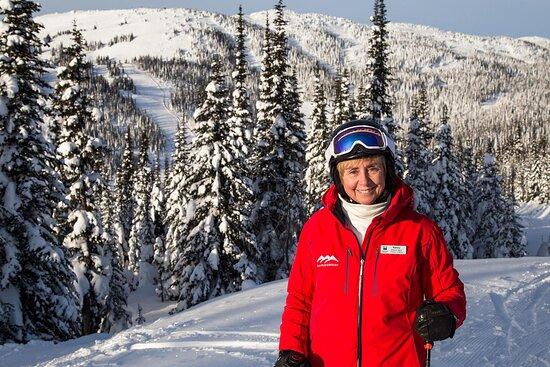 Skiing with Nancy Greene