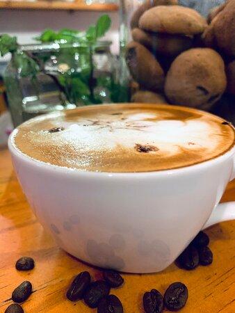 #Cappuccino #DrownYourTroublesInCoffee #AWarmDeliciousAlternativeToHatingEverybodyEveryMorningForever #BehindEverySuccessfulPersonIsASubstantialAmountOfCoffee #SriLanka #CafeByArena