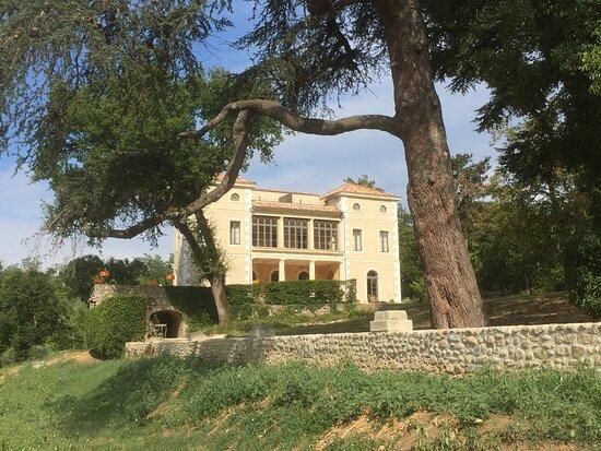 Photo de la Villa depuis les jardins