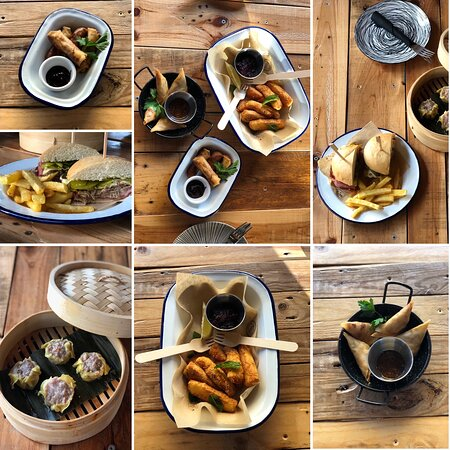 Some of our street food menu items 2021 - Perfect for sharing!